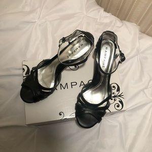 Rampage Black Heels.